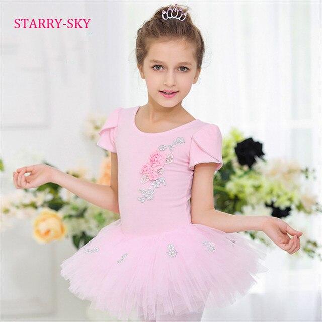 0f5df53cf Girls Ballet Dress Tutu For Children Dance Clothes Kids Ballet ...
