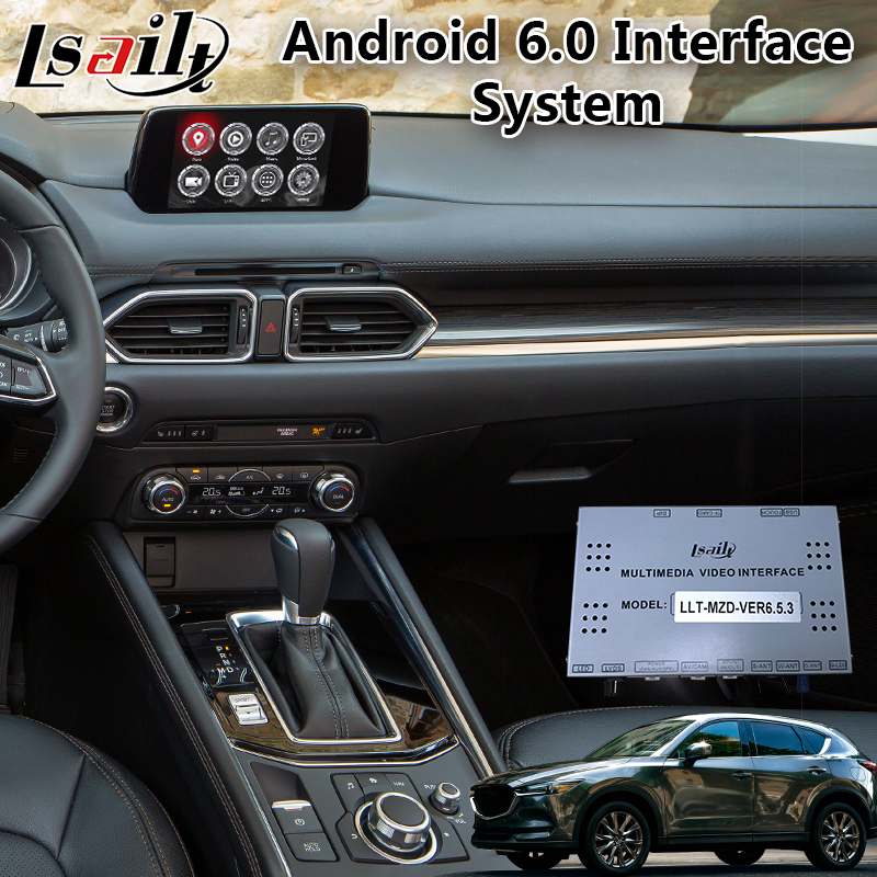 Android 6.0 Video Integration Interface for Mazda CX-5 support APP / MCU Online upgrade, Car Gps Navigator Box Android 6.0 Video Integration Interface for Mazda CX-5 support APP / MCU Online upgrade, Car Gps Navigator Box