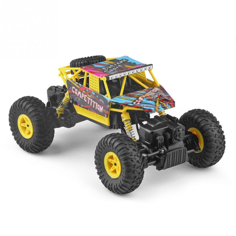 1:18 Electric RC Car Toy Four-wheel Drive 2.4G High Speed Off Road RC Car
