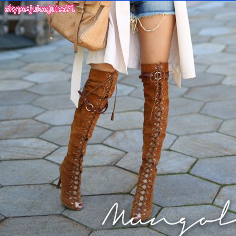 Aliexpress.com : Buy 2015 Brand Black/Brown/Grey Suede Boots Women ...