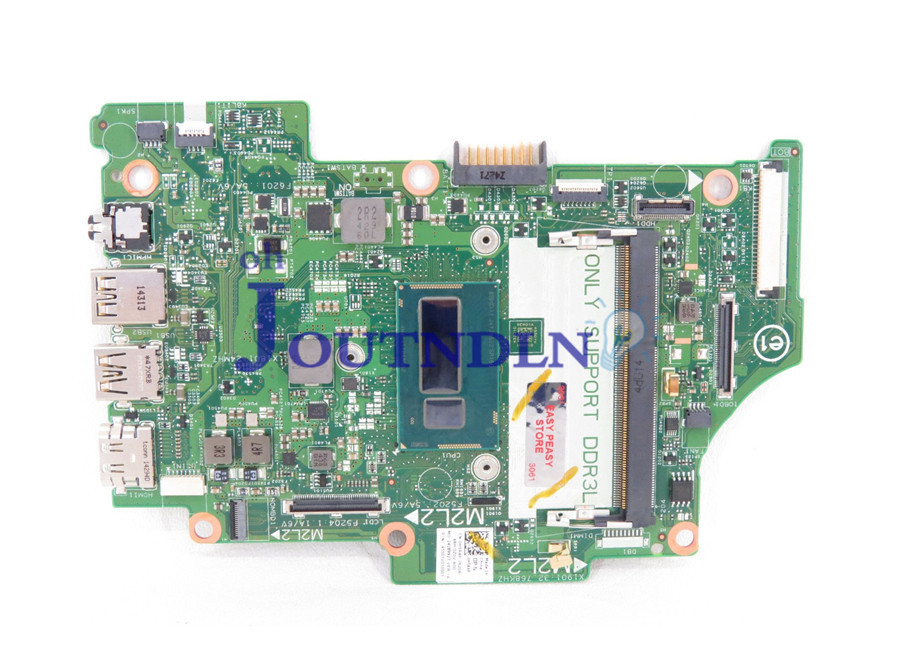 JOUTNDLN FOR Dell Inspiron 13 7347 11 3148 Integrated Laptop Motherboard H5r4p 0H5r4p CN-0H5r4p 13321-1 0RTGX8 W/ I3-4010u CPU