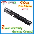 Genuino M5Y1K 40Wh 14.8 V for dell dell Inspiron 3451 3458 3551 3558 5551 5555 5558 K185W WKRJ2 GXVJ3 HD4J0