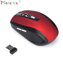 2017 New 2 4GHz Wireless Gaming Mouse USB Receiver Pro Gamer For PC Laptop Desktop Aug5