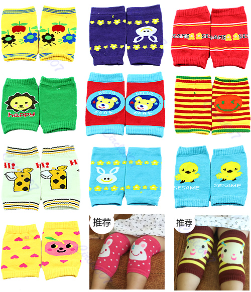 Baby Safety Knee Pad Children Short Kneepad Kids Socks Crawling Protector