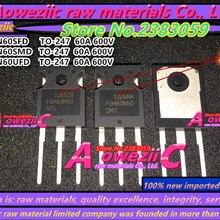 Aoweziic+ 100 импортный 60N60 FGH60N60 FGH60N60SFD FGH60N60SMD FGH60N60UFD TO-247 IGBT трубка 60A 600V