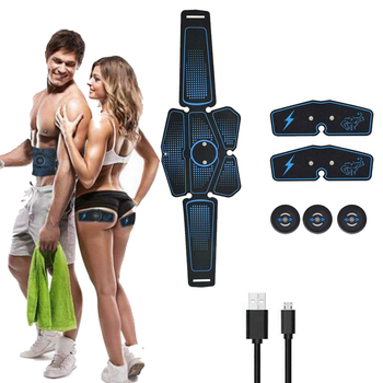 smart ems abdominal muscle stimulator and fitness abs training belt