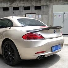 For BMW Z4 E89 Coupe Car Decoration 18i 20i 23i 28i 30i 35i Carbon Fiber Rear Trunk Spoiler 2009-2014 R Style цена