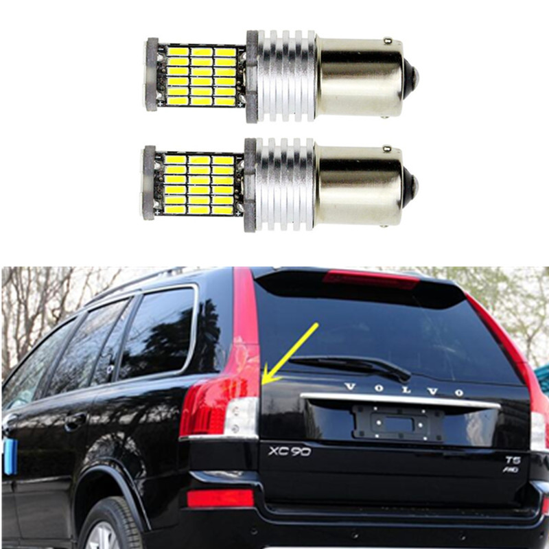 2x 1156 P21W 30W High Power Car LED Rear Reversing Tail Bulb For <font><b>volvo</b></font> xc90 <font><b>xc60</b></font> v70 s80 s40 v60 c30 v50 image