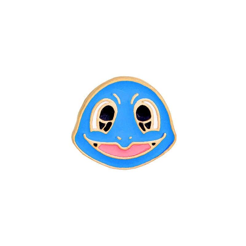만화 애니메이션 포케몬 브로치 쥬얼리 귀여운 엘프 Charmander Bulbasaur 피카추 Squirtle 장난이 심한 합금 에나멜 브로치 핀