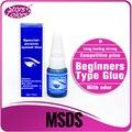 Alta Qualidade Professional Enxertando Eyelash Adhesive Cola Para Cílios Individuais para fins especiais Preto Baixo Odor Não Tóxico