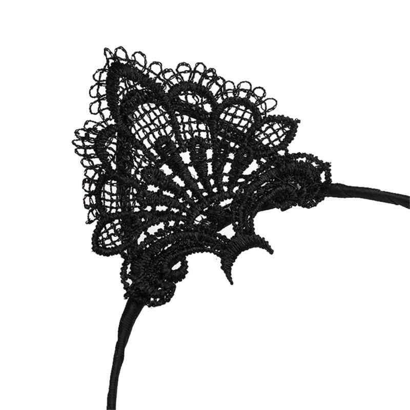 เซ็กซี่สีดำแมวหู Headbands สำหรับของขวัญวันเกิดผู้หญิง Hoop หัวหญิงเซ็กซี่หูแมว Hairband Headwear ผมอุปกรณ์เสริม