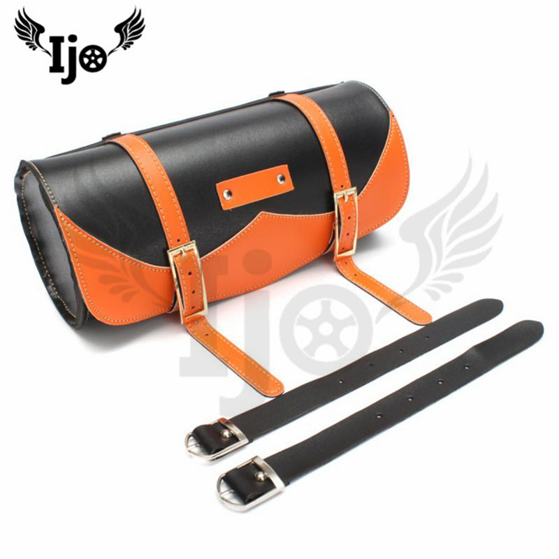 cheap bolsas para selim couro 01