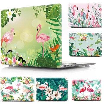 Flamingi twardy futerał do Apple Macbook Air 13 etui moda kobiety mężczyźni ochronna pokrywa Shell dla Macbook Air Pro 12 13 15 torba