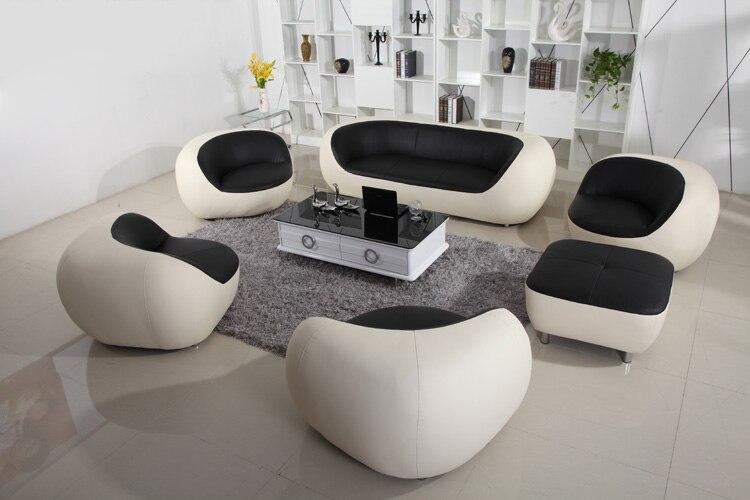 Elegant HOT SALE Cheap 1+2+3 Modern Leather Sofa Set Designs