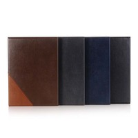 High Quality Retro Matte Folio PU Leather Stand Business Book Cover Protector Case For Apple IPad