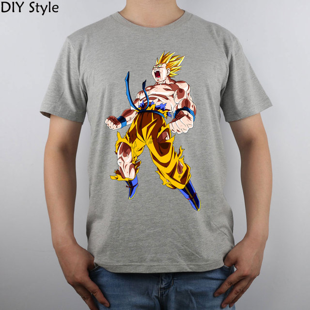 Goku Top Pure Cotton Men T shirt