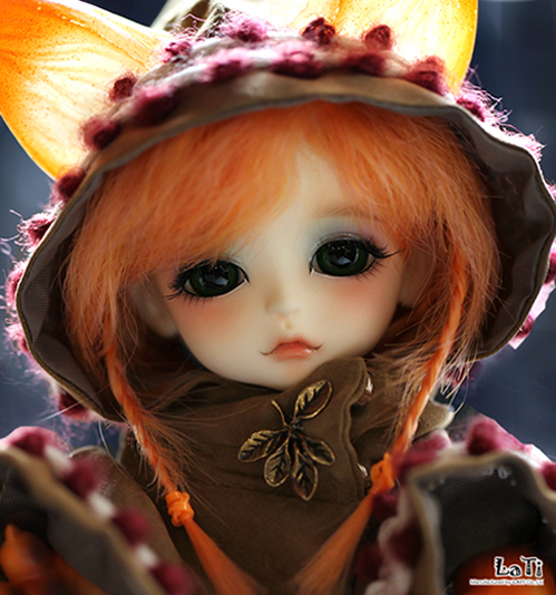 FREE SHIPPING ! FREE makeup&eyes included!top quality 1/8 BJD 16cm cute baby doll Le Petit Prince ver. Lea [The Fox] gifts подвесной светильник alfa marta 15344