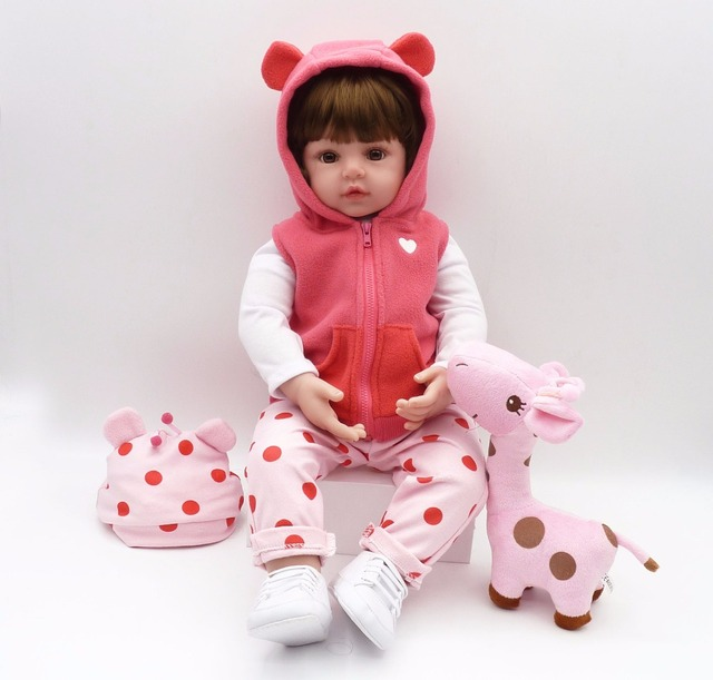 Silicone Reborn Baby Doll Toys Like Alive