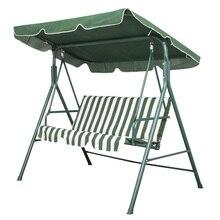 Best Garden Patio Metal Swing Chair Seat 3 Seater Hammock Bench Swinging Cushioned