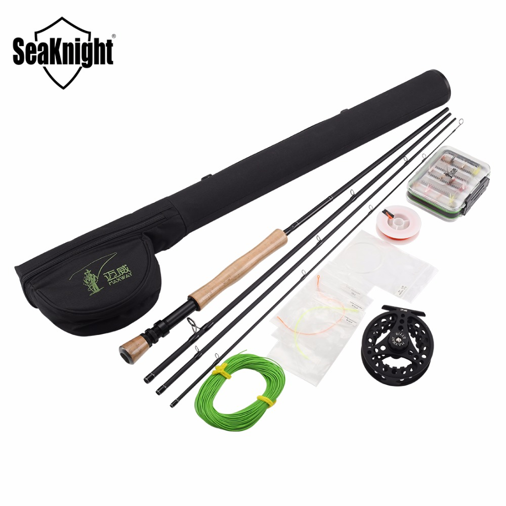 Buy seaknight 7 8 fly fishing rod combo for Fly fishing stores