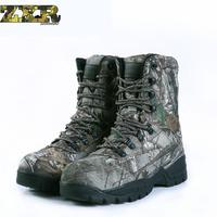 Winter Tactical Men Boots Camouflage Warm Cotton Army Shoes Trainer Footwear Mens Military Boots Men's hiking camping shoes