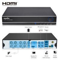 ANNKE CCTV DVR 8CH ONVIF IP Camera Recorder H 264 P2P AHD DVR For AHD M