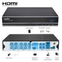 ANNKE CCTV DVR 8CH ONVIF IP Camera Recorder H 264 P2P AHD DVR For AHD M