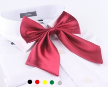 Sólidos bowknot mulher gravata borboleta gravata camisa de vestido da marca new lady adulto flor pescoço gravatas moda acessório 20 pçs/lote