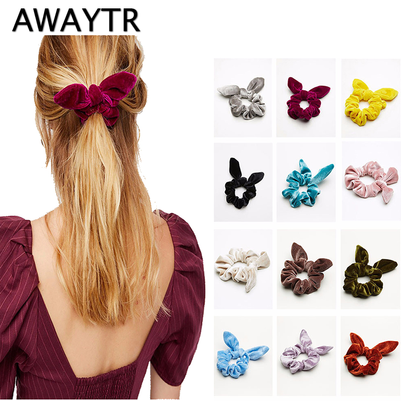 Apparel Accessories The Cheapest Price 1pcs Lovely Flower Gray Ball Elastic Hair Bands Toys For Girls Handmade Bow Headband Scrunchy Kids Hair Accessories For Womens Making Things Convenient For Customers Girl's Hair Accessories
