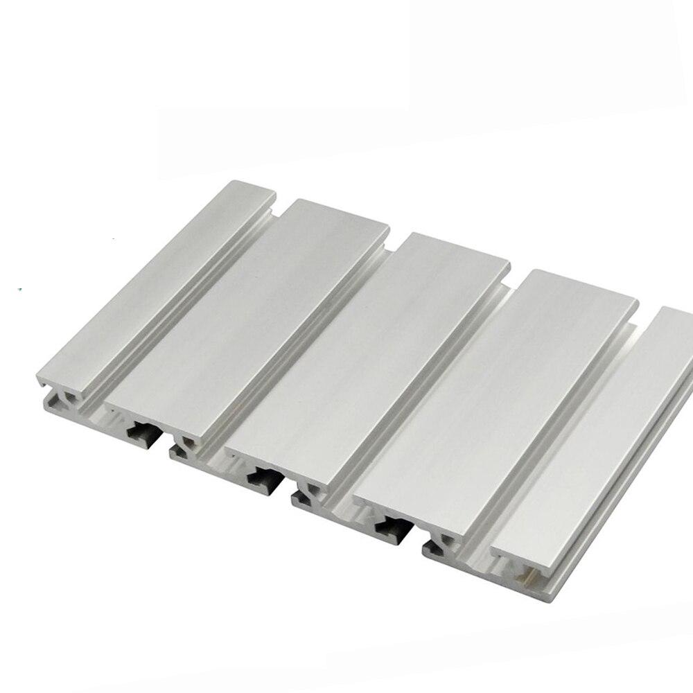 1 PC 15180 profilé en aluminium Extrusion 100-450mm longueur CNC pièces anodisé Rail linéaire pour bricolage imprimante 3D