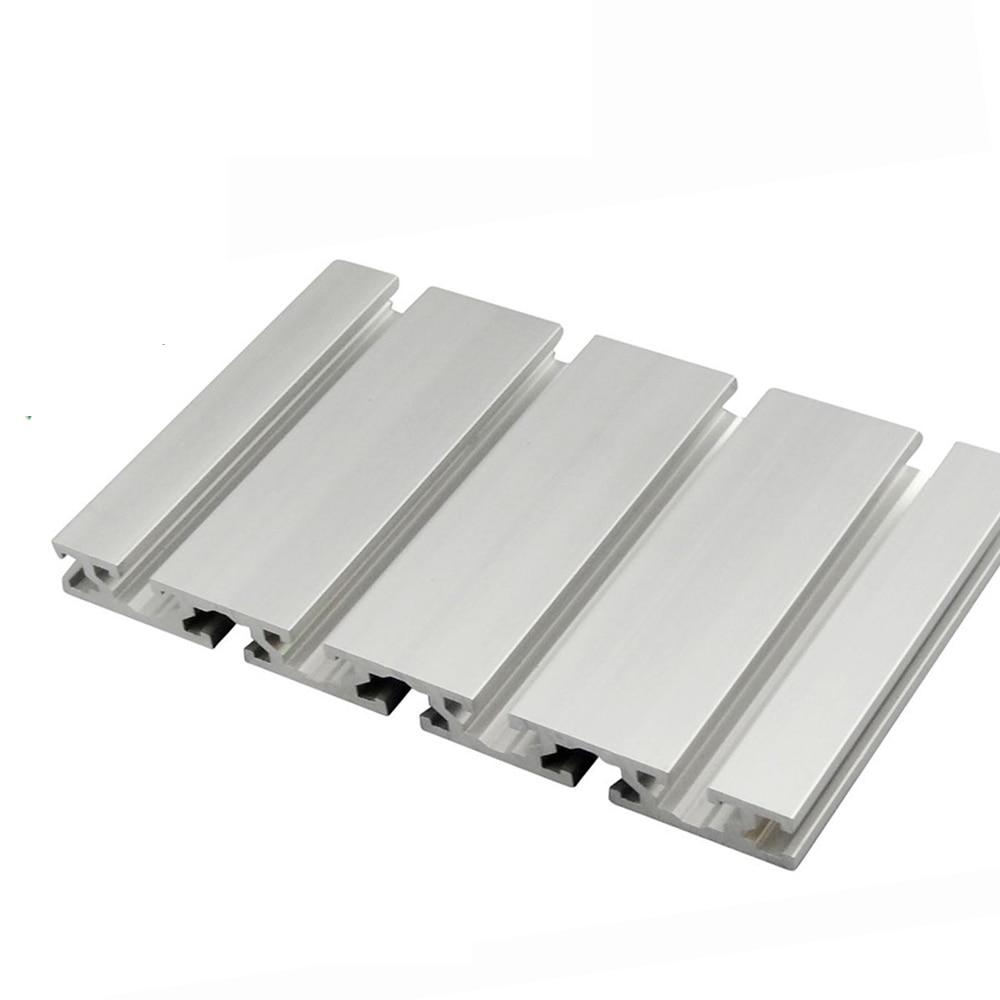 1PC 15180 Aluminum Profile Extrusion 100-450mm Length CNC Parts Anodized Linear Rail For DIY 3D Printer