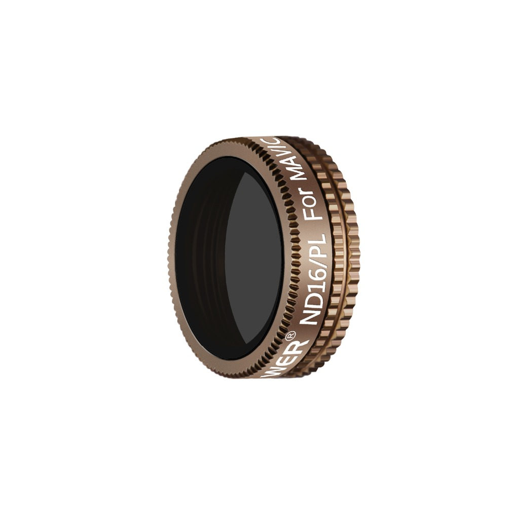 Gold Made of Multi Coated Optical Glass and Waterproof Aluminum Alloy Frame Neewer Pro ND 16 Filter for DJI Mavic Air Drone Quadcopter