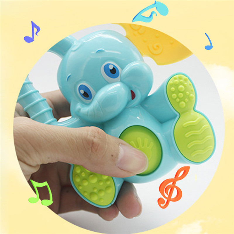 New-Safety-Baby-Toddler-Teether-Hand-Shake-Bell-Ring-Funny-Educational-Elephant-Toy-A-dropshipping-1