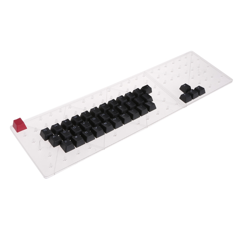 Lvyuanda PBT 37 Keys Double Shot Translucidus Backlit Keycaps for Mechanical Keyboard