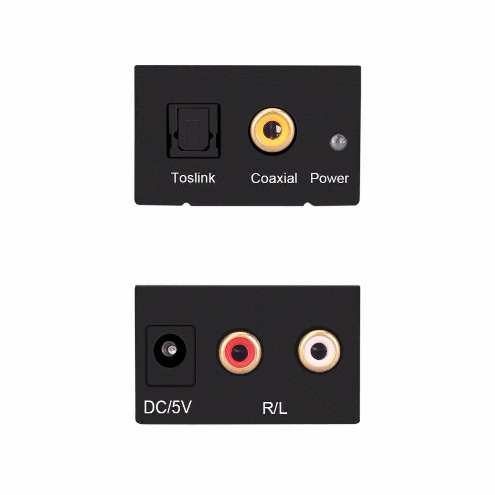 Թվային օպտիկական Coaxial Toslink- ի ազդանշան - Համակարգչային մալուխներ և միակցիչներ - Լուսանկար 3
