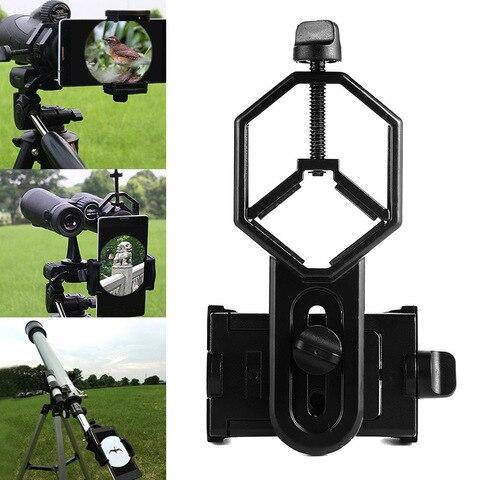 nova chegada adaptador de telefone celular universal suporte de montagem adaptador de ocular spotting scope