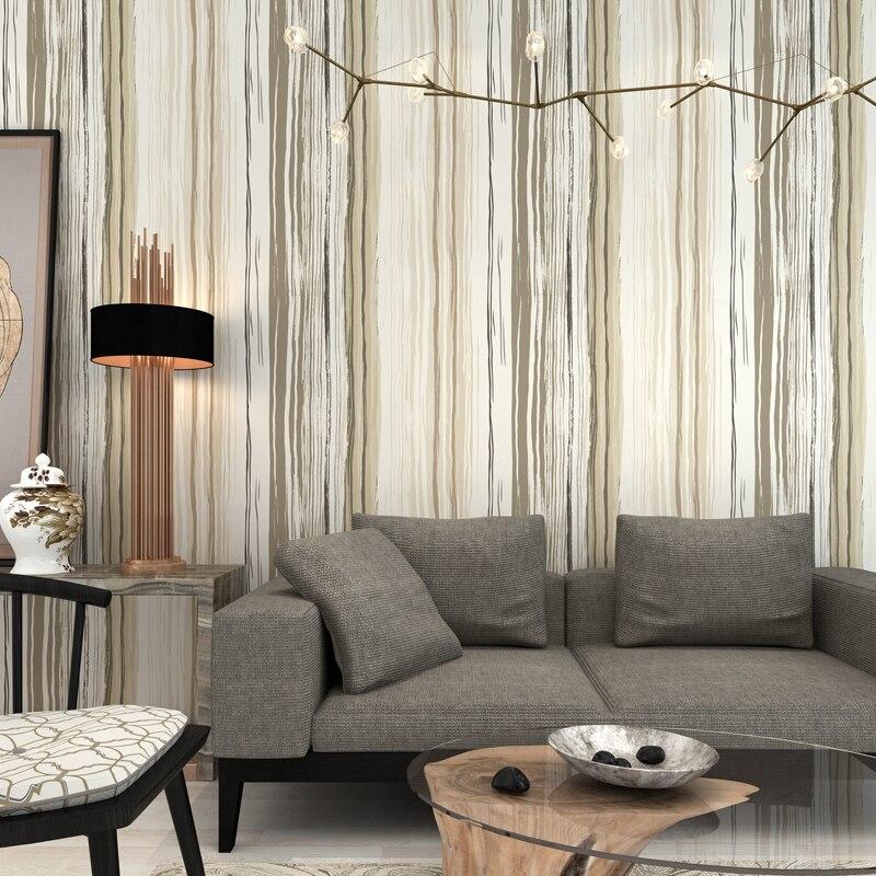 simple bedroom vertical living personality wallpapers stripe