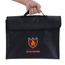 Security Fireproof Bag Double Protective Fire Retardant Safety Guard Pouch недорого