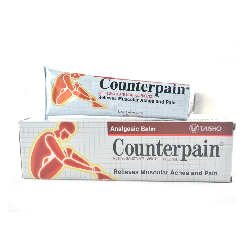 COUNTERPAIN ANALGESIC BALM RELIEVES MUSCULAR ACHES AND PAIN 30G.
