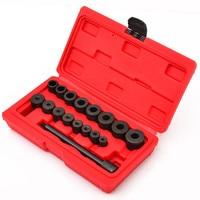 17PC Universal Clutch Aligning Car Van Mechanics Garage Kit Alignment Tool Set