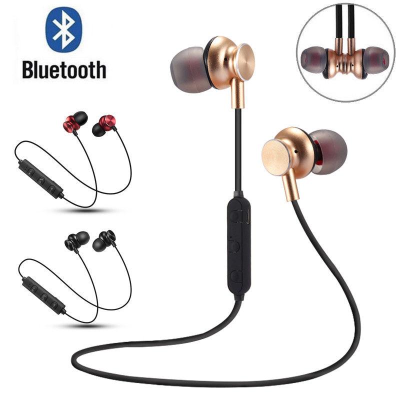 Sports Wireless Headphones Bluetooth 4.1 Stereo Earphone for Smart Phone Magnetic Earphones Earpiece Headset Earbuds Headphone