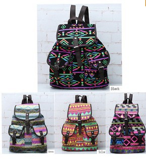 New 2014 National trend women decorative pattern canvas casual ...