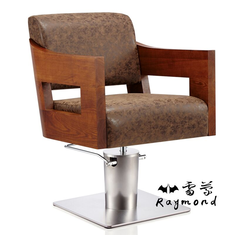 Hairdressing chair. Hairdressing chair. High-class european-style chair.