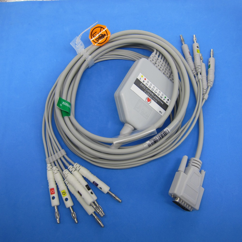 commen ecg ekg cable 10 leadscommen ecg ekg cable 10 leads