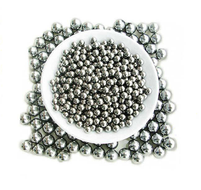 100pcs 4.5mm 8mm Balls Shot การล่าสัตว์กลางแจ้ง Slingshot Pinball สแตนเลส Ammo Steel Balls เกมส์ยิงอุปกรณ์เสริม GYH