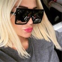 ASUOP Large Frame Retro Classic Female Sunglasses Fashion Mens Square Glasses UV400 International Brand Design