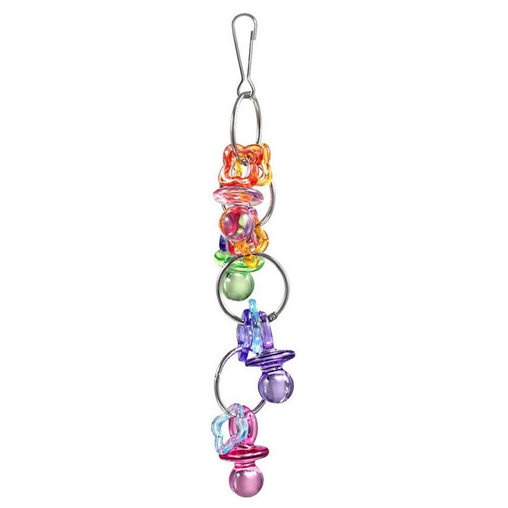 8 видов стилей игрушки-попугаи деревянные птицы стоящая Жевательная стойка игрушки шарик в форме сердца, звезды Попугай Игрушка птица игрушки аксессуары - Цвет: G