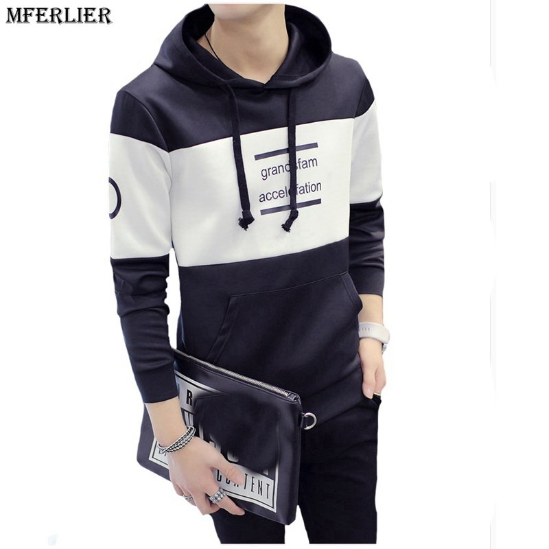 autumn winter Men casual hoodies Sweatshirts long sleeve Sweatshirts work office hoodies Slim Fit out the door fashion tracksuit