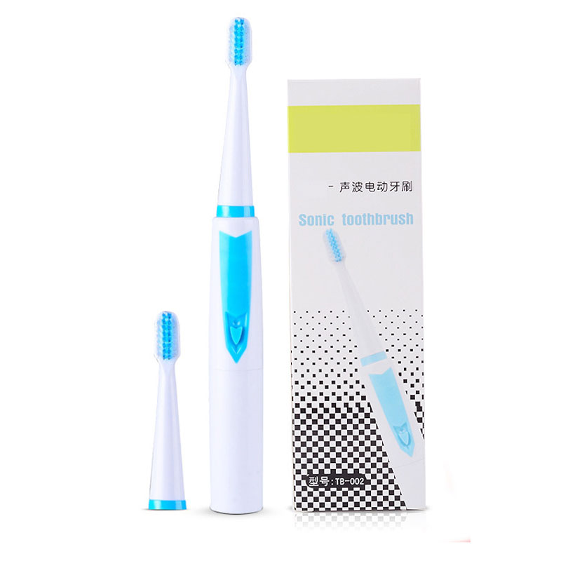 New Ultrasonic  Battery Electric Toothbrush with 3 Brush Heads Sonic Tooth Brush Oral Hygiene Health Products for Kids Adult new arrival ultrasonic electric toothbrush oral hygiene chargeable wireless charge sonic brush tooth brush teeth 3 heads
