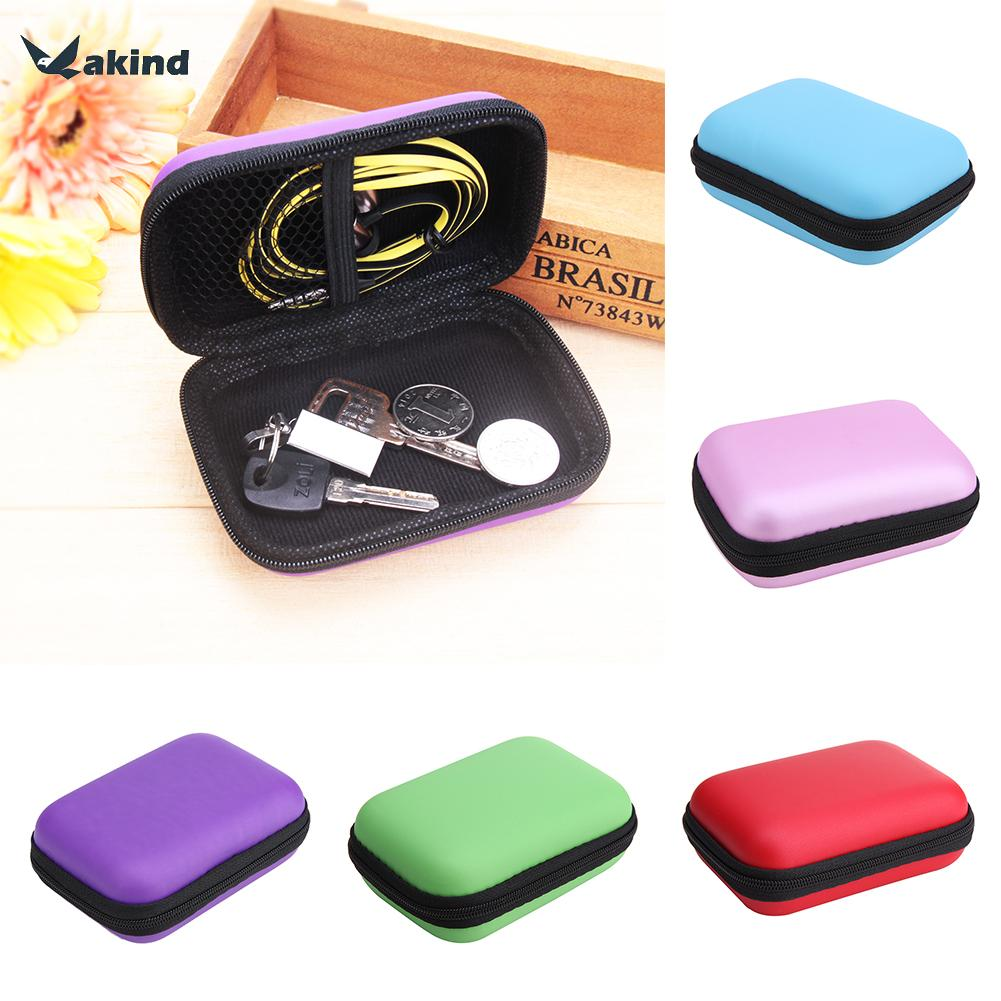 Mini Square EVA Case Hard Drive Bags Headset Bluetooth Earphone Cable Storage Box for Cellphone font